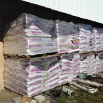 Supply of worm dirt